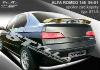 Zadní spoiler křídlo pro Alfa Romeo 146, 1994-2001r