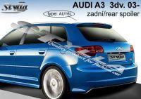 Spoiler zadní kapoty pro AUDI A3 5dv. 2004r =>