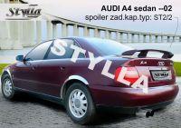Spoiler zadní kapoty pro AUDI A4 sedan => 2002r