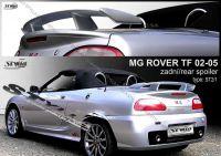 Spoiler zadní kapoty pro ROVER MG TF 2002-2005r
