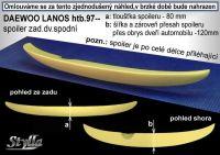Spoiler zadní kapoty pro DAEWOO Lanos htb 97-2001r