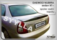 Spoiler zadní kapoty pro DAEWOO Nubira sedan 97-1999r