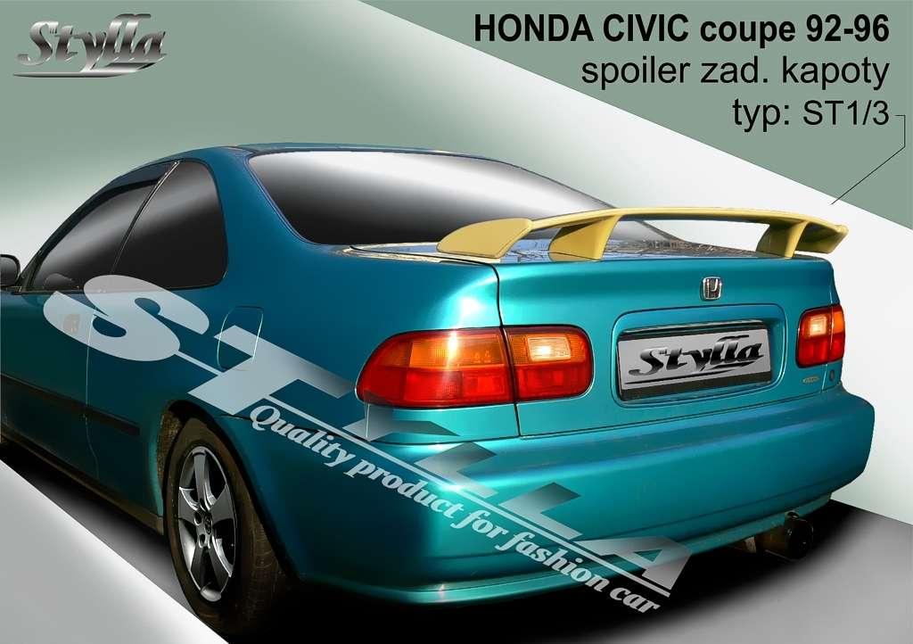 1992 honda civic horsepower