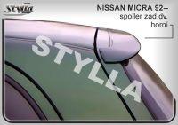 Zadní spoiler křídlo pro NISSAN Micra K11 1992-2003r