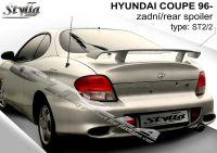 Spoiler zadní kapoty pro HYUNDAI Coupe 1996r =>