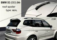 Zadní spoiler křídlo zadní pro BMW X3 E83 2004=>
