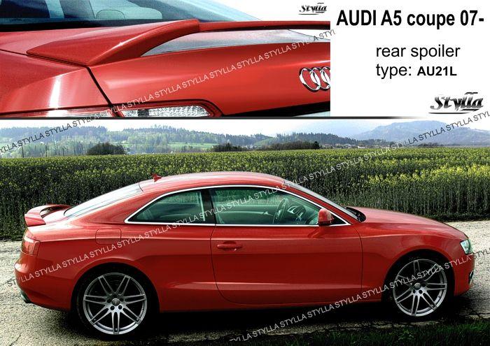 Spoiler zadní katopy na míru pro AUDI A5 coupe 2007=>