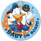 """Dítě v autě na přísavku """"Donald"""" prům. 18 cm"""