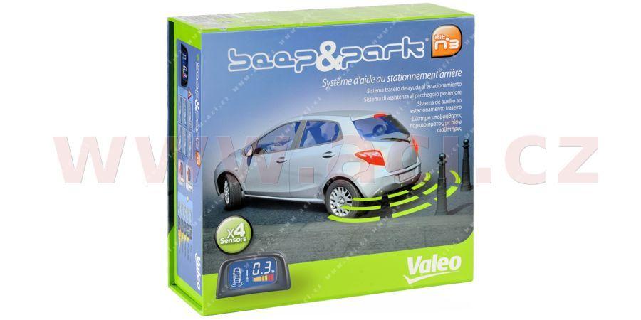 Parkovací asistent VALEO BEEP & PARK zadní - displej