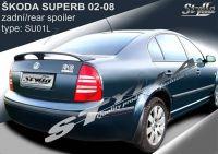 Zadní spoiler křídlo zadní pro ŠKODA Superb sedan 02-2008r