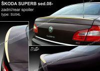 Zadní spoiler křídlo zadní pro ŠKODA Superb II sedan 2008r =>