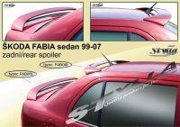 Zadní spoiler křídlo a střešní pro ŠKODA FABIA I sedan
