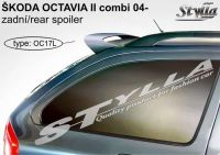 Zadní spoiler křídlo ŠKODA Octavia combi 2004r =>