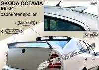 Zadní spoiler křídlo pro ŠKODA Octavia htb 1998r =>