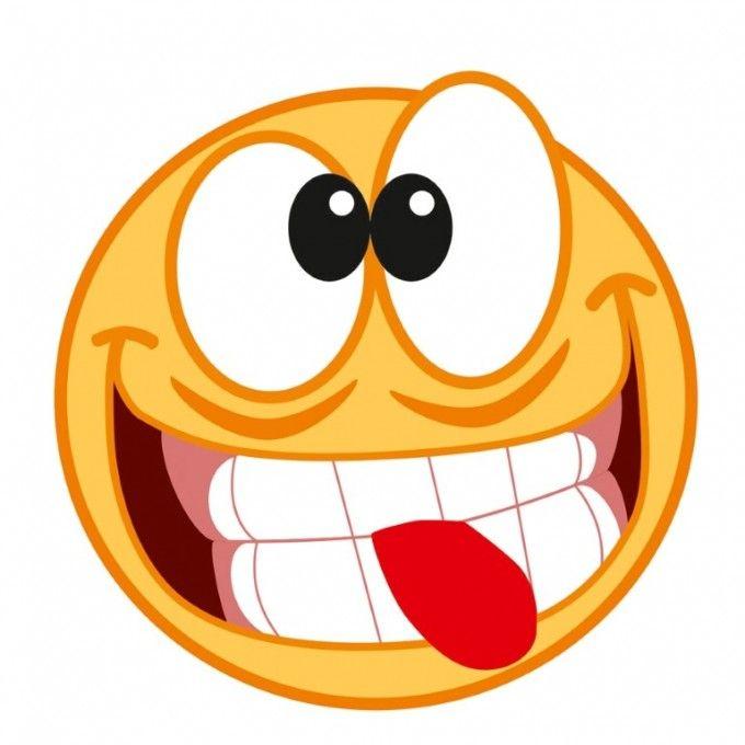 SAMOLEPÍCÍ DEKORY SMAJLÍK směšný obličej prům. 8,5 cm AVISA