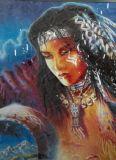 SAMOLEPÍCÍ DEKORY Indiánka