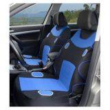 Potahy pro přední sedadla LAS VEGAS modré na přední sedadla 2ks Vyrobeno v EU