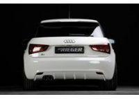 Spoiler pod originální zadní nárazník Audi A1