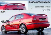Zadní spoiler křídlo zadní pro Škoda Octavia htb, 96-2004r