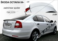 Zadní spoiler křídlo zadní pro ŠKODA Octavia htb 2004r =>