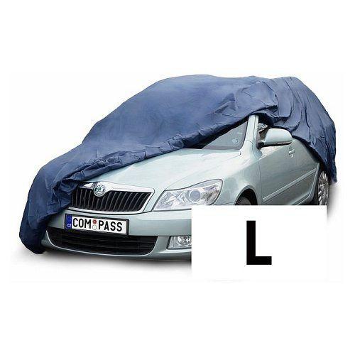 Autoplachta NYLON velikost L 482x177x121cm, Celoroční ochranná plachta na auto