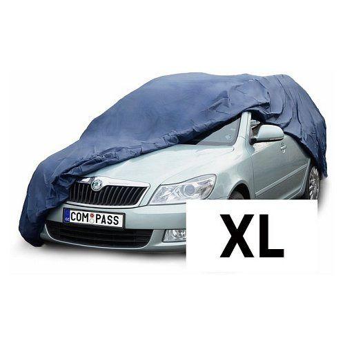 Celoroční ochranná plachta na auto NYLON velikost XL 510x178x119cm