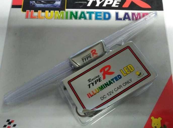 Type R illuminated Interiérová lampička VNITŘNÍ 17cm x 1 cm 12v Plus