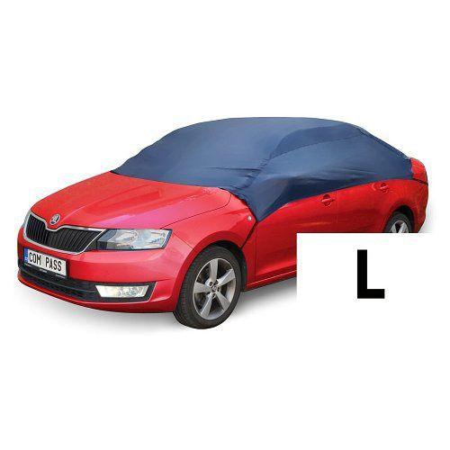 Autoplachta NYLON střešní velikost L 266x165x58 cm ochranná plachta na auto pulgaráž