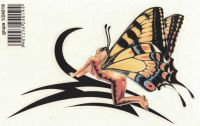 Samolepka Motýl tribal 16x11 cm