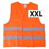 Vesta výstražná oranžová XXL