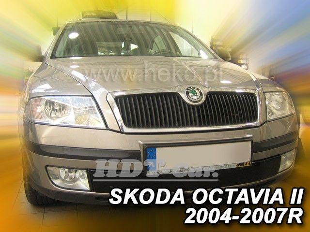Zimní clona masky chladiče ŠKODA Octavia II 2004-2007r, dolní clona