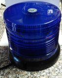 Maják magnetický 100 LED 12V modrý