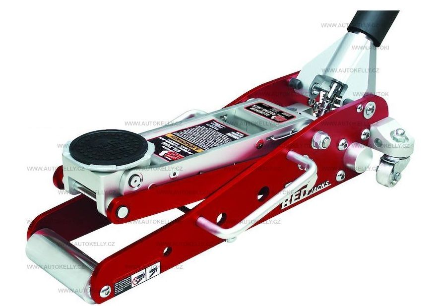 POJÍZDNÝ hydraulický nízko-profilový zvedák - hliník 1.3t