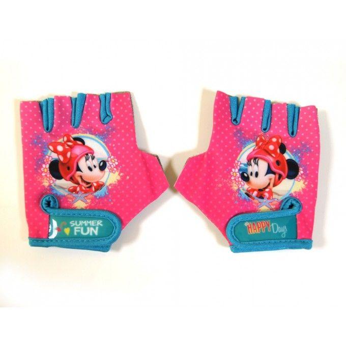 Dětské Cyklistické rukavice Minnie Mouse 1ks Disney ce78f8f425