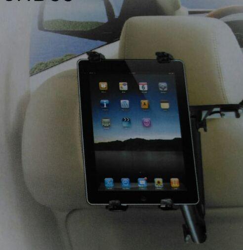 Univerzální držák do auta pro iPad, iPhone, tablet a čtečky knih, navigaci, gps, rameno 360° 140x260 mm