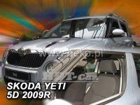 Plexi, ofuky bočních skel ŠKODA Yetti 5D, 2009 => HDT