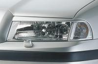 Kryty světlometů Milotec (mračítka) - ABS černá metalíza, Škoda Octavia Facelift