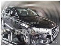 Plexi, ofuky Audi  Q7 II 5D 15R + zadní