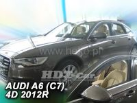 Plexi, ofuky Audi A6 C7 5D sedan 2011=> přední 2ks>