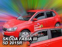 Ofuky oken Škoda Fabie III 5D 2014r => htb, combi, přdní +zadní