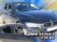 Plexi, ofuky BMW serie 3 F30 4D. 2012=> +zadní