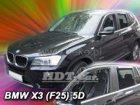 Ofuky oken BMW X3 F25 5D 2010R=> předná +zadní