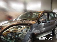 Plexi, ofuky  BMW X5 5D 2001--06, přední