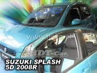 Ofuky oken SUZUKI Splash 5D, 2008 =>, přední + zadní