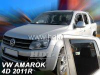 Ofuky oken VW Amarok 4D 2011 =>, + zadní