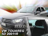 Ofuky oken VW Touareg 5D 2010, + zadní