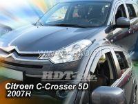 Ofuky oken Citroen C-Crosser 5D 2007 =>, + zadní