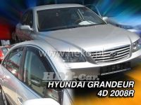 Ofuky oken Hyundai Grandeur 4D 2008 =>, přední + zadní