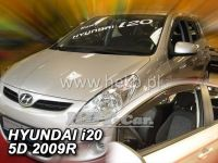 Plexi, ofuky Hyundai i20 5dv., 2009r =>, 2ks přední HDT