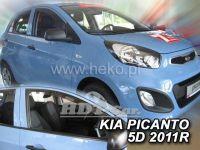 Ofuky oken KIA Picanto II, 4D 2011 =>, přední